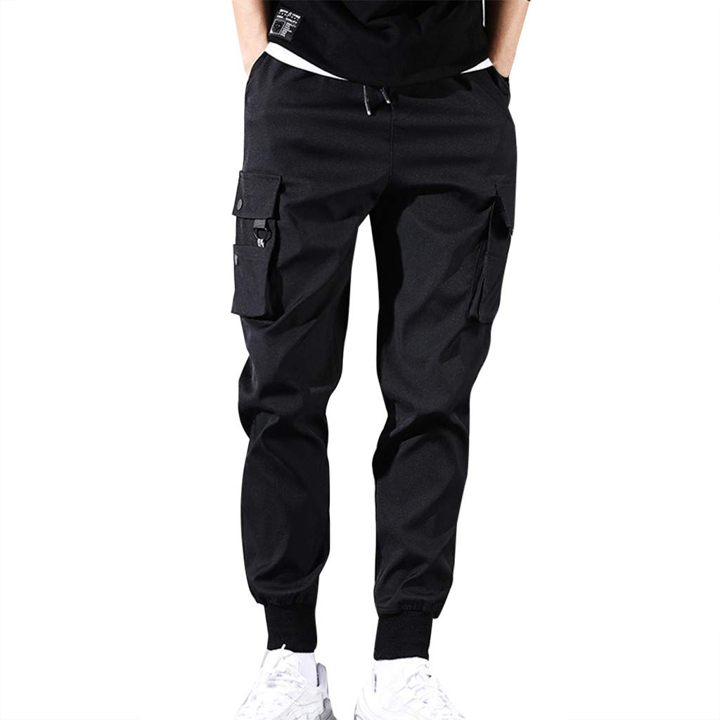 Aleola Men's Splicing Disassemblable Pants Two-Piece Pant (XXL) by Aleola_Men's Pants