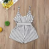 One Piece Outfits Baby Girl Striped Rompers Kids