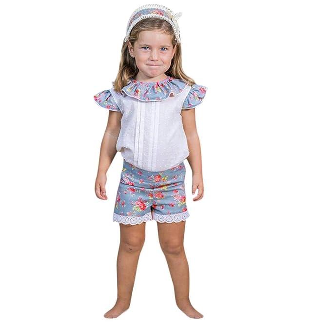 ASHOP Body Bebe Verano Conjunto niño 5 años de Vestir Ropa minicuna, 70 (0