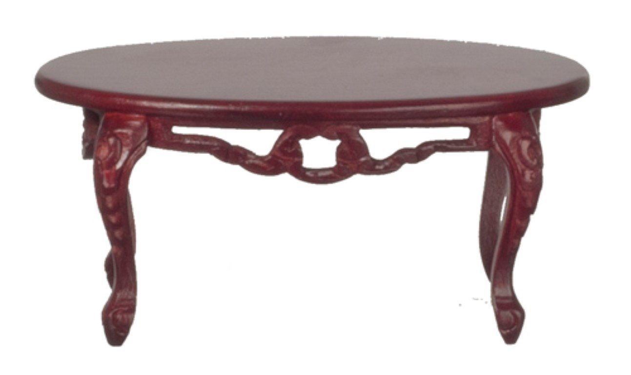 Victorian End Table Amazon.com: Dollhouse Miniature Mahogany Victorian Parlor Coffee Table:  Toys u0026 Games