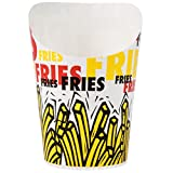 Dart Solo GSP34-83013 4 oz. Paper French Fry Scoop Cup - 1200/Case