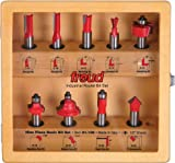 Freud 91-108 Basic Router Bit Set with 1/2-Inch Shank, 9-Piece