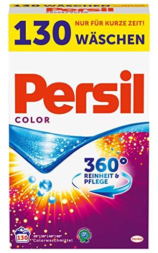 Persil Color Powder Laundry Detergent Mega Pack - 130 Wash Loads / 8.45 Kg