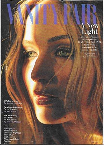 Vanity Fair Magazine (March, 2018) Jennifer Lawrence Cover