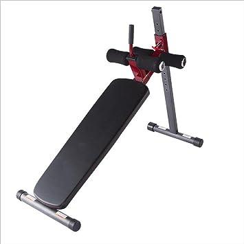 Ejercicio aerobico Tablero supino / Equipo de ejercicios abdominales / Abdomen interior Múltiples funciones Músculos abdominales Banco de ...