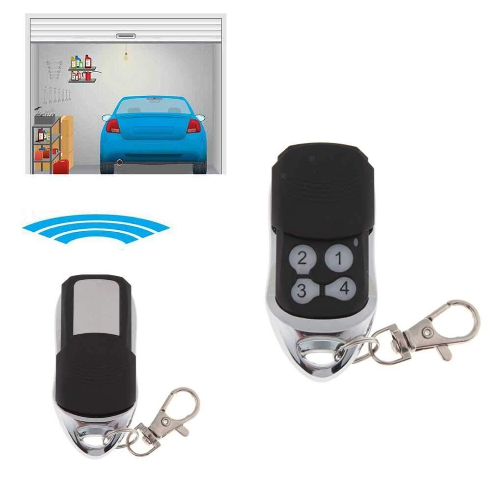 Homyl Port/ón El/éctrico Puerta De Garaje Control Remoto Fob 433mhz Reemplazo Llavero