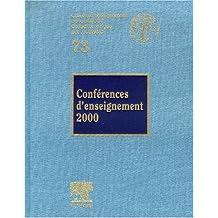 CONFÉRENCES D'ENSEIGNEMENT 2000