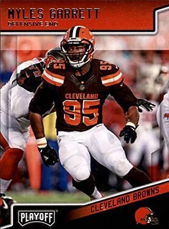 huge discount bdd88 3a01b 2018 Panini Playoff #49 Myles Garrett Cleveland Browns NFL Football Trading  Card