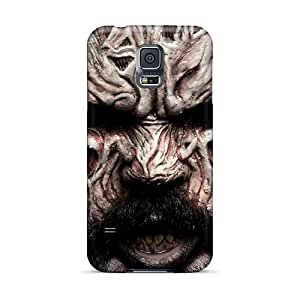 Samsung Galaxy S5 UhB6390cmip Unique Design HD Papa Roach Pattern Scratch Resistant Cell-phone Hard Cover -IanJoeyPatricia