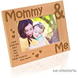 Kate Posh - Mommy & Me - I may outgrow your lap, but I will never outgrow your heart - Picture Frame (4x6 - Horizontal)