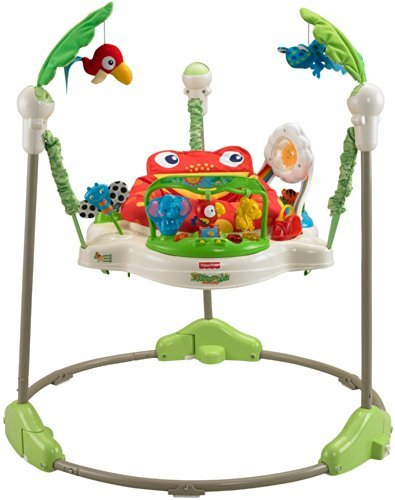 Fisher Price Rainforest Jumperoo Baby Bouncer.