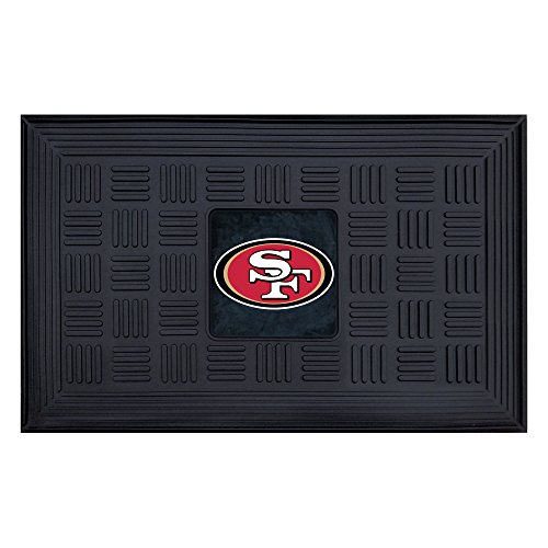 FANMATS NFL San Francisco 49ers Vinyl Door Mat (Francisco Vinyl 49ers San)