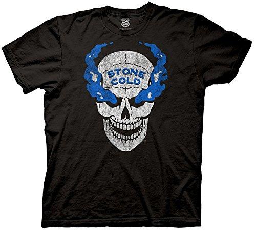 WWE Stone Cold Steve Austin 3:16 Skull Mens Black T-shirt (X-Large)