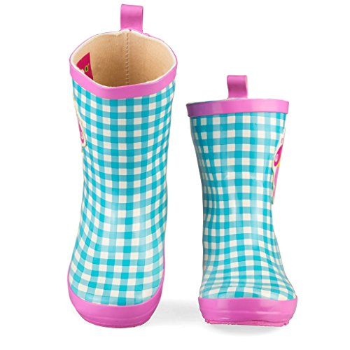 Wippette Rainboots for Boys, Girls & Toddlers – Mid-Calf Rain Boots for Kids, Fun Prints and Bold Colors