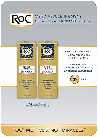 RoC Retinol Correxion Eye Cream 2-pack 0.5 oz (15ml) each