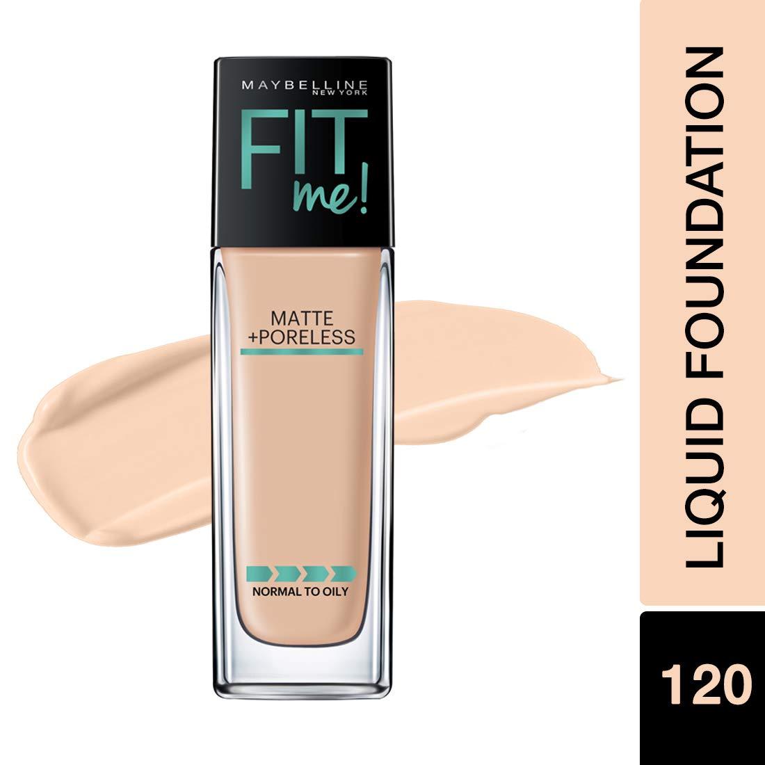 871425553e8 Maybelline New York Fit Me Matte Plus Poreless Foundation Makeup, Classic  Ivory, 1 Fluid Ounce: Amazon.ca: Beauty
