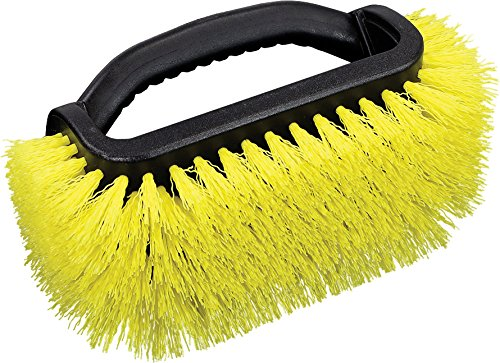 Four Brush - Unger Professional Outdoor Four-Sided Scrub Brush, Color Varies