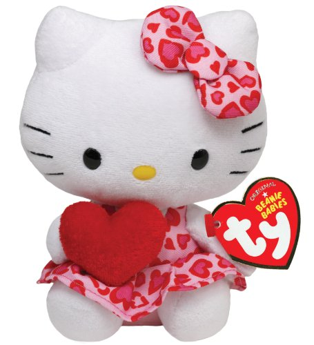 Amazon.com  Ty Hello Kitty - Heart  Toys   Games 21483ea41e7
