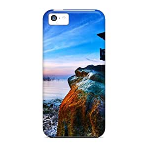 Fashion HoV4872ibOd Cases Covers For Iphone 5c(on Top Of Rock)