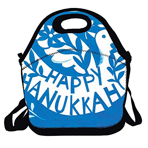 Amuseds Dove Boxed Hanukkah Funny Lunch Bag Lunch Tote Lunch Box Handbag For Kids And Adults