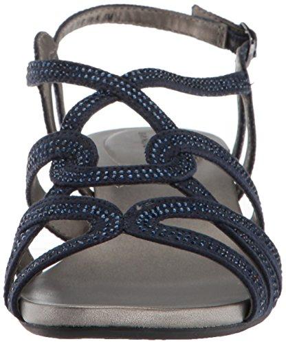 Wedge WoMen Bandolino Galtelli Navy Sandal gSUaFcW8Ta