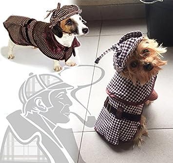 Amazon.com: Mascota disfraces perro gato Sherlock Hound ...