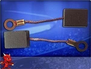 Escobillas de carbón para amoladoras Metabo W16230, W16230X, W19178, W19178X