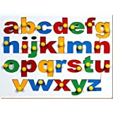 Little Genius English Alphabets - Lowercase with Knob