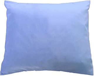 product image for SheetWorld Crib Toddler Pillow Case, 100% Cotton Flannel, Blue, 13 x 17, Made in USA