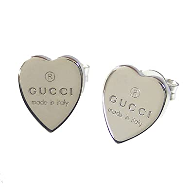low priced a4201 8a4d0 Amazon   グッチ ピアス GUCCI ハートピアス TRADEMARK HEART ...