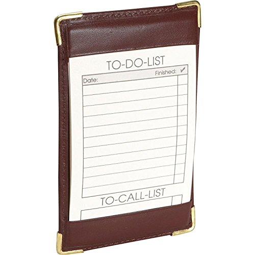 Deluxe Note Jotter Organizer (Royce Nappa Leather Deluxe Pocket Jotter -)