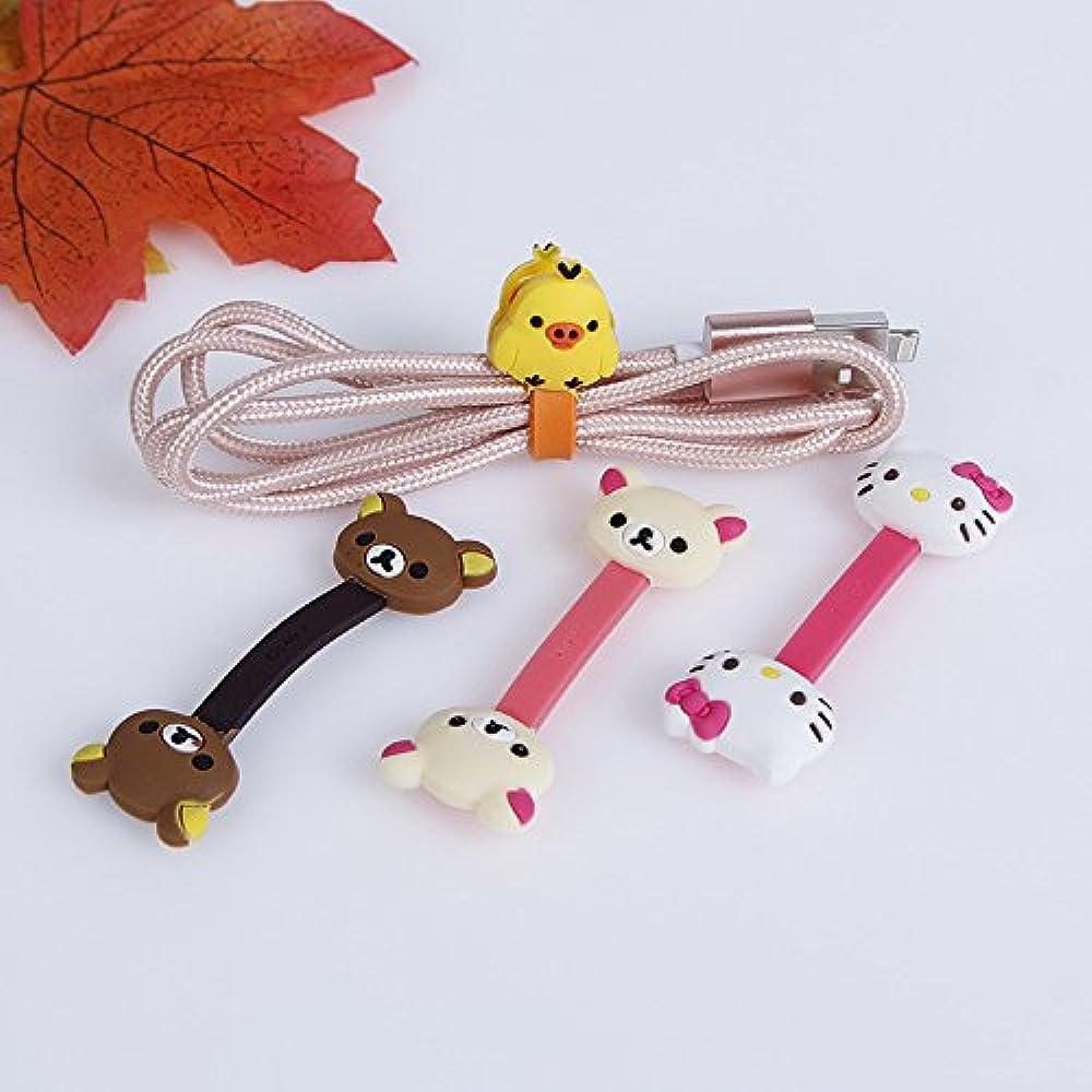 Lovely Headphone Earphone Cord Winder Wrap Organizer Cable Tie Holder KI