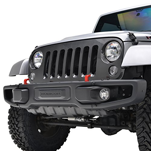 jeep wrangler jk grill - 9