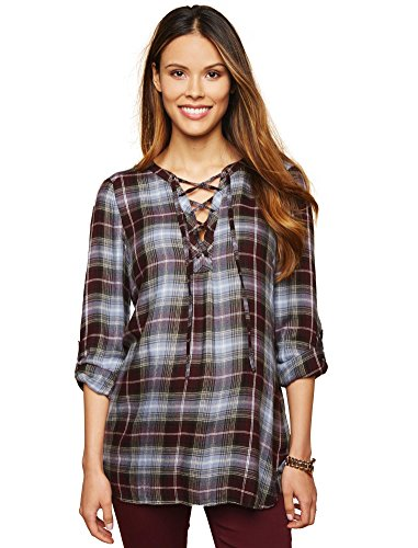 Tie Front Maternity Shirt - 8