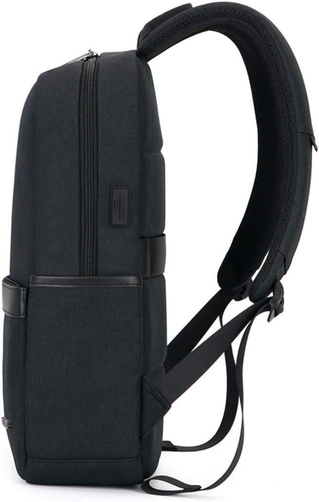 School Bag Laptop Backpack 15.6 Inch Women Mens Portable Travel Backpacks Luggage gray