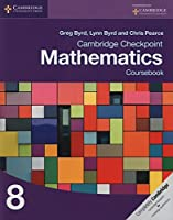 Cambridge Checkpoint Mathematics Coursebook 8 Front Cover
