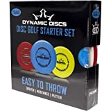 Dynamic Discs Easy To Throw Prime Disc Golf Starter Set 145-159g