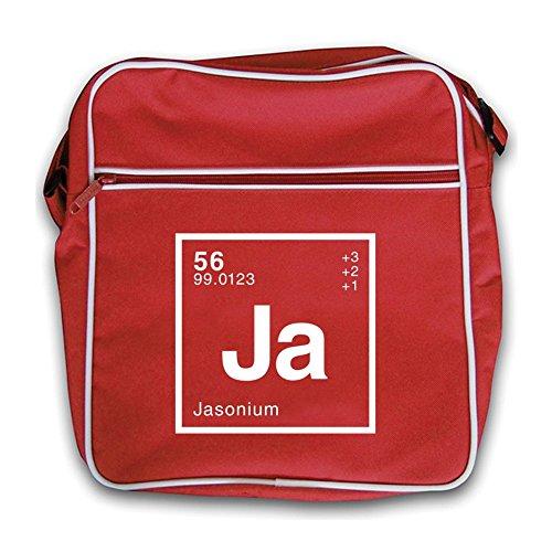 Periodic Element Red Dressdown Retro Flight Jason Bag zwUUHqZ