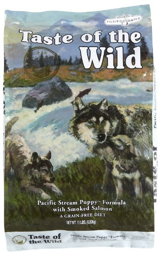 Taste of the Wild Pacific Stream Puppy - Smoked Salmon - 15 lb
