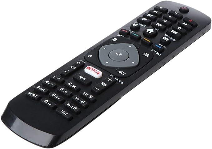 Mando a distancia de repuesto compatible con Philips NETFLIX Smart TV 398GR08BEPHN0012HT 1635008714 43PUS6162 398GR08BEPHN0011HL: Amazon.es: Electrónica