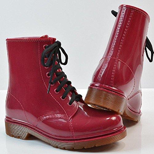 regen Ms red Martin Stiefel Stiefel POgOwXqdx4