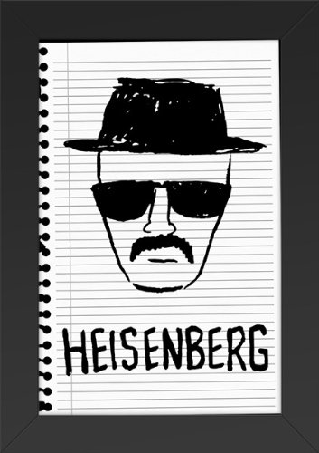 Amazon.com: Breaking Bad - Heisenburg Sketch Drawing TV Show Art ...
