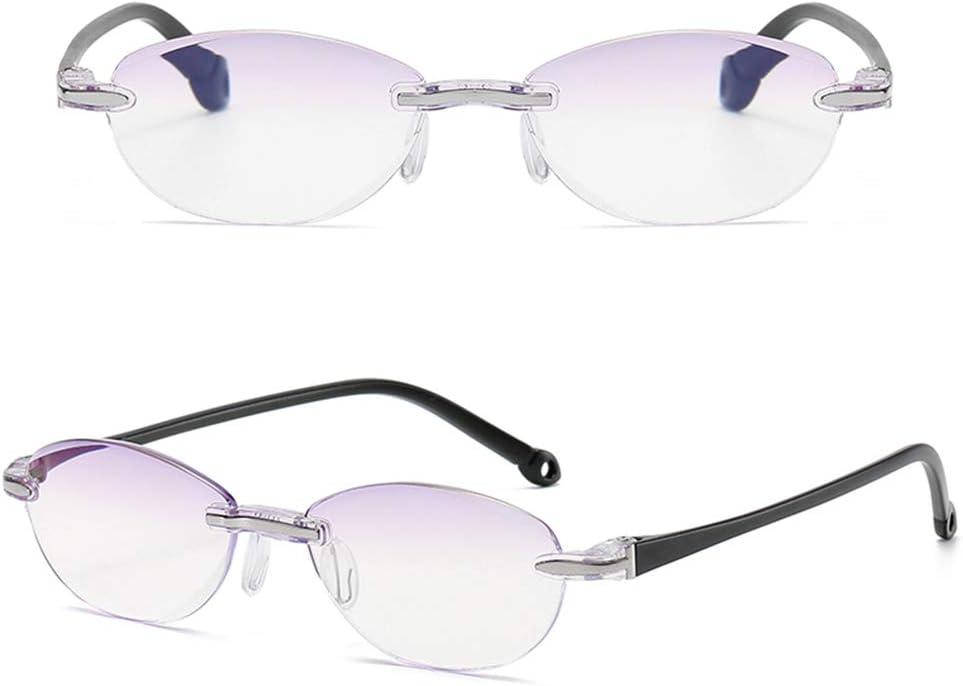 Reading glasses Gafas De Lectura Sin Marco para Mujer Gafas Moda ...