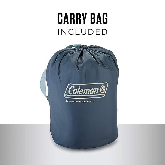 Amazon.com: Coleman - Colchón hinchable con cremallera ...