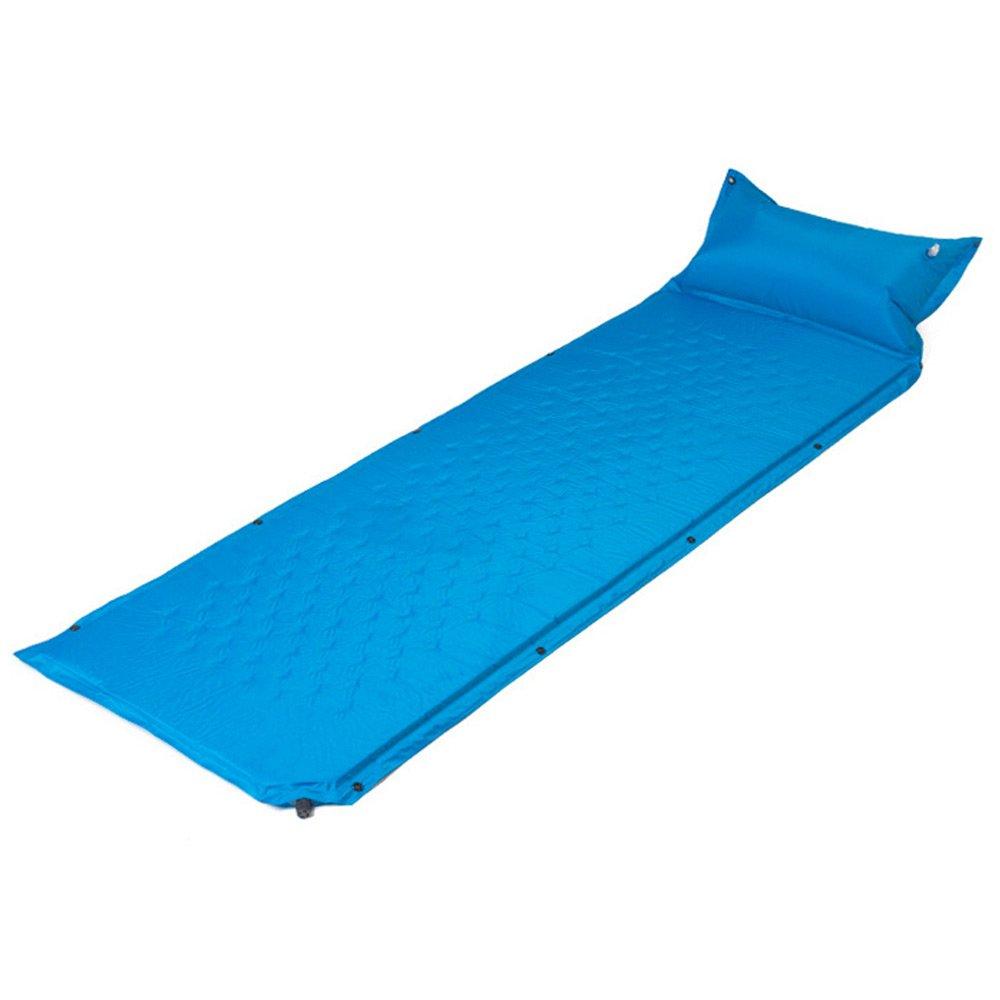 JD Picknickmatte Aufblasbare Bett im freien automatische aufblasbare blätter können gespleißt aufblasbares Bett Camping feuchtigkeitsdichten aufblasbaren Kissen 185  60  3 cm (Farbe   1 )