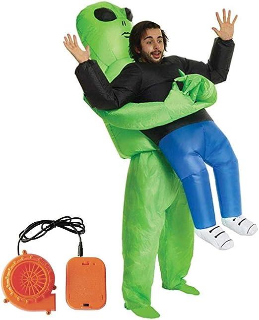 Leo565Tom Halloween - Disfraz Hinchable para Fiesta, Disfraz de ...