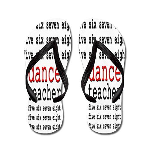 Professeur De Danse Cafepress - Tongs, Sandales String Sexy, Sandales De Plage Noir