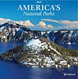 Product picture for GoldistockNational Parks 2019 Large Wall Calendar - 12 x 24 (Open) - Thick & Sturdy Paper - Featuring Breathtaking Images of Our National Parks by Trends International