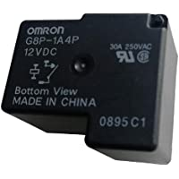 G8P-1A4P-12VDC Fully-Sealed PCB Relay 30A 250VAC for PC Board or Panel-Mounted
