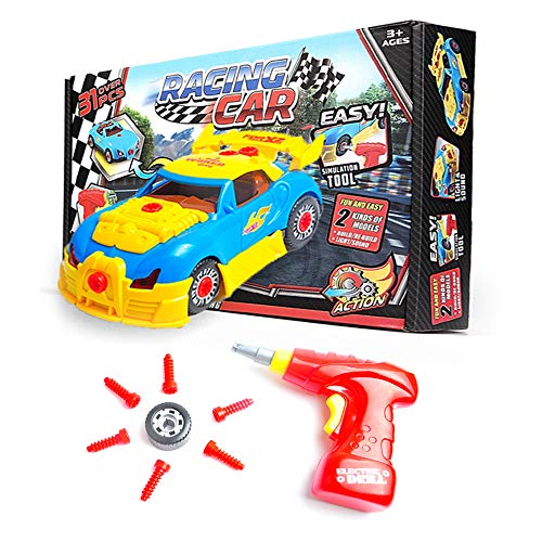 Take Apart Toy Race Car for...